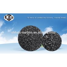 Reutilização de carvão ativado por carvão