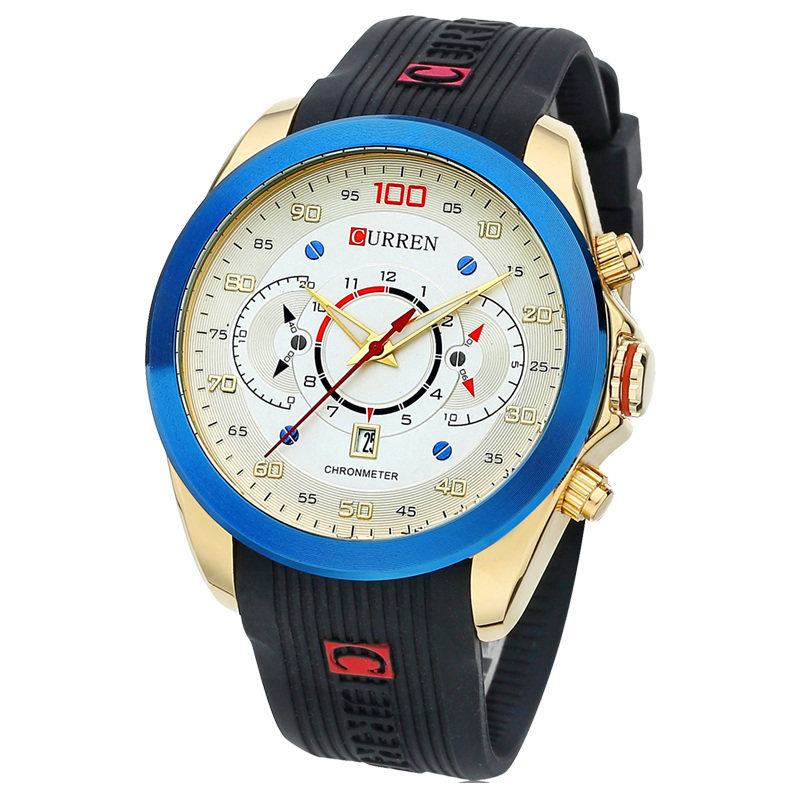 High Quality 2017 Long-Lasting Life Watch Men