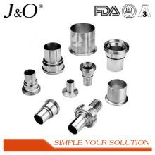 Adaptateur de ferrure sanitaire hexagonale Raccords de tuyaux en tube