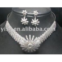 Conjuntos de colar de jóias de casamento