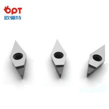 Herramienta de inserción de diamante PCD Insertos de inserción PCD para mecanizado de precisión