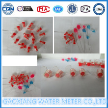 Kunststoff Bunte schlanke Dichtungen für Wasserdurchflussmesser