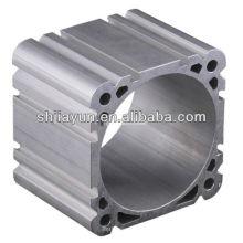 6063 extrudez le tube cylindrique pneumatique en aluminium