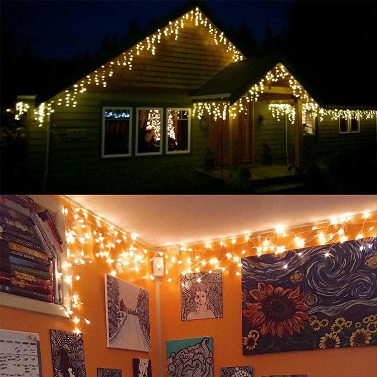 christmas new style led icicle light