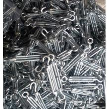 Fijación DIN 1480 maleable acero tensor Hardware del aparejo