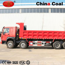 HOWO 8 * 4 Basculeur de camion à benne basculante résistant