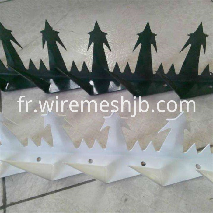 Green Color Wall Spike