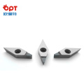 Outil de coupe PCD outil diamant VNMA220412 insert diamant Insert PCD