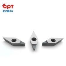 Herramienta de corte PCD Herramienta de diamante VNMA220412 Inserto de diamante Inserto de PCD