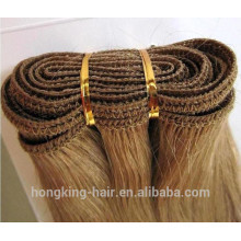 double drawn russian hair weave real Remy hair
