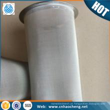 Tubo de filtro reusável Eco-amigável do frasco de pedreiro para a cafeteira