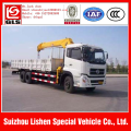 6x4 knuckle boom truck mounted crane