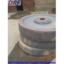 Rueda de forja, 55 #, rueda de acero