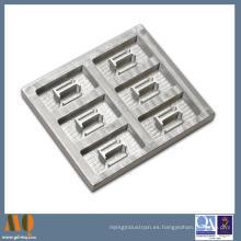 Piezas de aluminio que trabajan a máquina complejas de la alta precisión del CNC