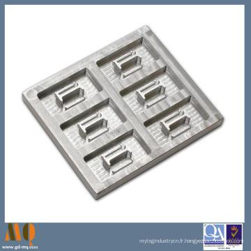 Pièces complexes en aluminium de usinage de précision de commande numérique par ordinateur