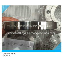 En1092-2 Dn100 Stainless Steel F304 Plate Steel Flange