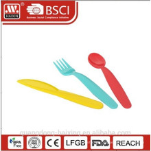 HaiXing Household plastic spoon & fork set