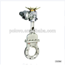 China made hot sale POV wafer pneumatic knife gate valve