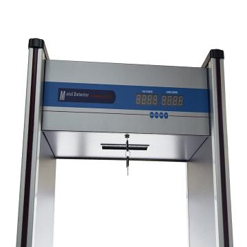 Uso interno Percorra o detector de metais (JT-200)