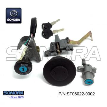 BAOTIAN BT49QT-11A3 (2B) LOCK SET (P / N: ST06022-0002) Qualità superiore