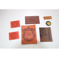 PU genuine leather leather label leather trademark