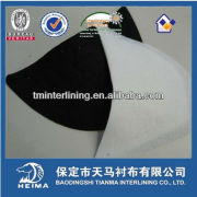 needle punch shoulder Pads for high class suit and uniform