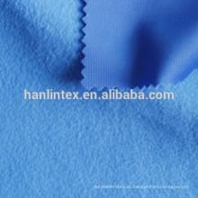100% poliéster tecido escovado tricot for forro de sofá