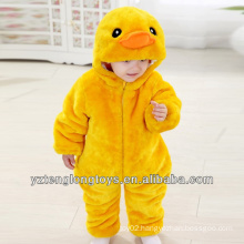 Promotional Plush Duck Baby Romper