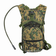 Military hydration backpack, material 600D polyester