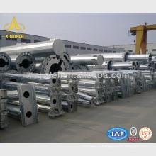 Conception des structures de poteaux de transmission en acier