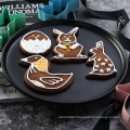 4 pieces colorful Easter rabbit cookie cutter set
