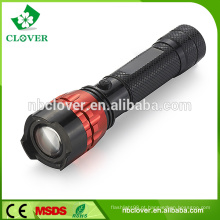 400-800 lúmens IP67 de alta potência levou lanterna lanterna de alumínio