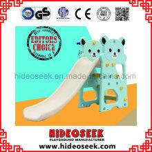 Bear Style Eco Material Plastic Slide para bebés