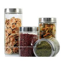 High Quality Food Storage Ikea Glass Jars with Lid