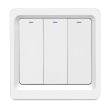 EU UK Switch Glass Panel Smart Wifi Remote Controlled Light Switch Touch Wifi Glass Tuya Zigbee Wireless Switch Panel Glass
