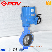 high quality Lug wafer type explosion proof butterfly valve