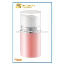 Novo modelo pp material cosmético airless garrafa, 50ml / 100ml cosmético airless bomba garrafa para promoção