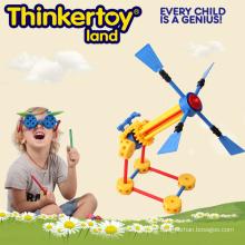 Plastic Educational Building Baby Toy Preschool Toy