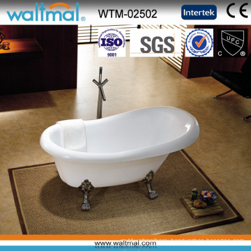 Classical Freestanding Bath Tub with Clawfoot