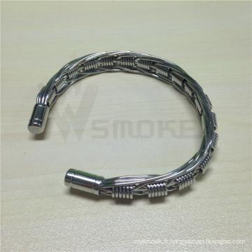 Bracelet en fil de cigarette E Bracelet de vampire démoniaque pour vapers
