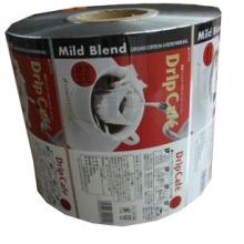 Película de embalaje de café / Rollo de café de plástico Película / Rollo de película de café