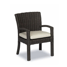 Harz-Wicker-Patio-Garten Outdoor Rattan Dining Sessel