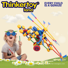 Вертолетная модель Игрушка для детских строительных блоков