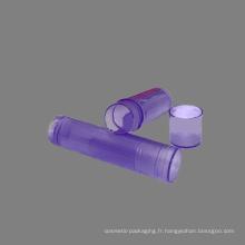 5ml vider le baume à lèvres brillant cosmétique mini-conteneurs (NL04)