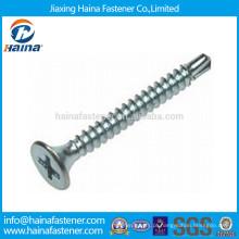 DIN7504-P Cabeça plana Phillips Drive Self Drilling Screw