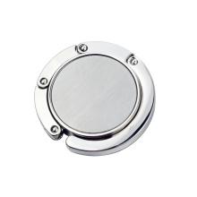 Presente da promoção personalizado de metal em branco saco cabide (G01018)