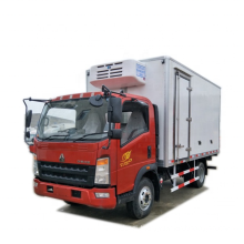 Howo food delivery refrigerated trucks for fruit/seafood /meat/ beverage /vegetable & other perishable food