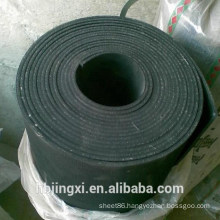 High Quality Wear-Resistance Black Rubber Sheet Roll With Cloth Insertion