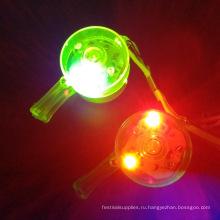 факел светодиодный фонарик свисток