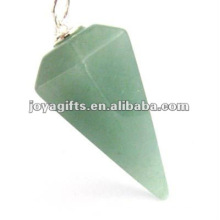 Зеленый авантюрин Каменный маятник
